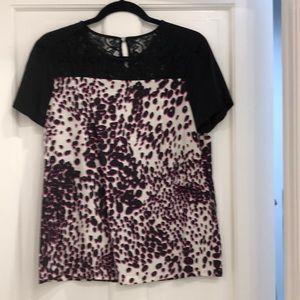 Dianne von Furstenberg blouse. Size 8